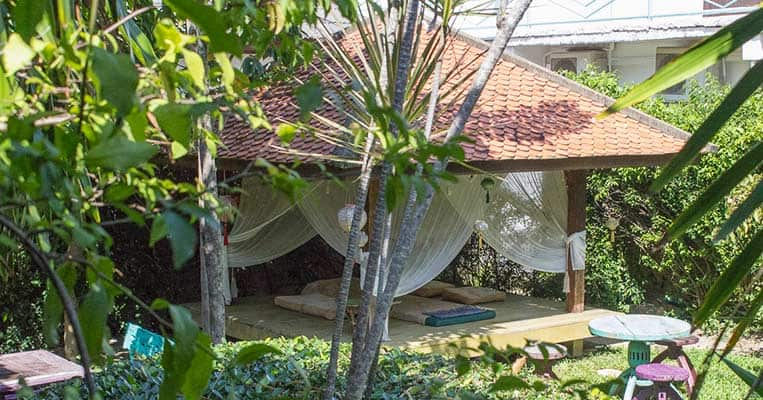 Garten des Yogagarden Samui
