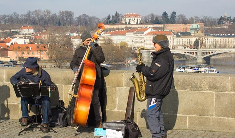 Time for Rock'n'roll in Prag