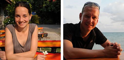 Heiko und Julia von Wo der Pfeffer wächst