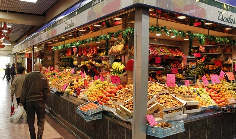 Der Markt von Santa Catalina