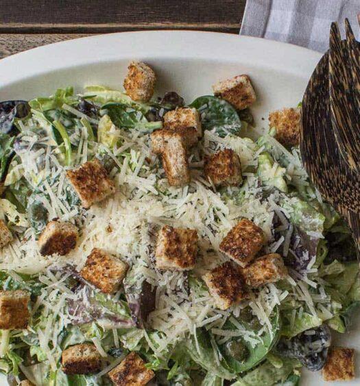 Original Caesar Salad Rezept