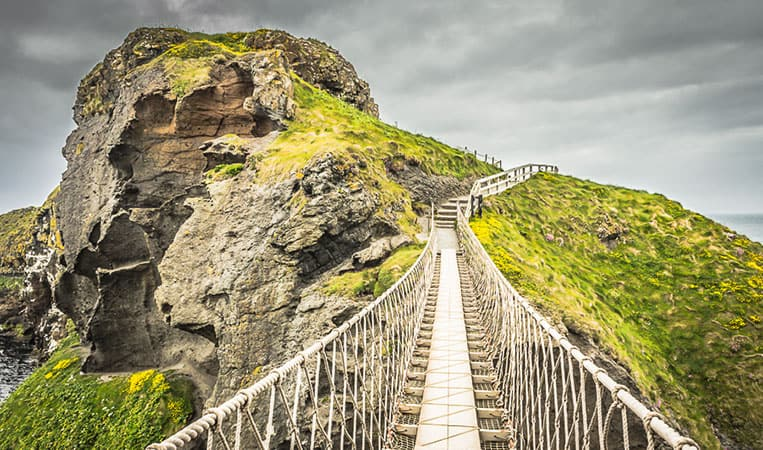 Die Carrick-a-Rede Rope Bridge