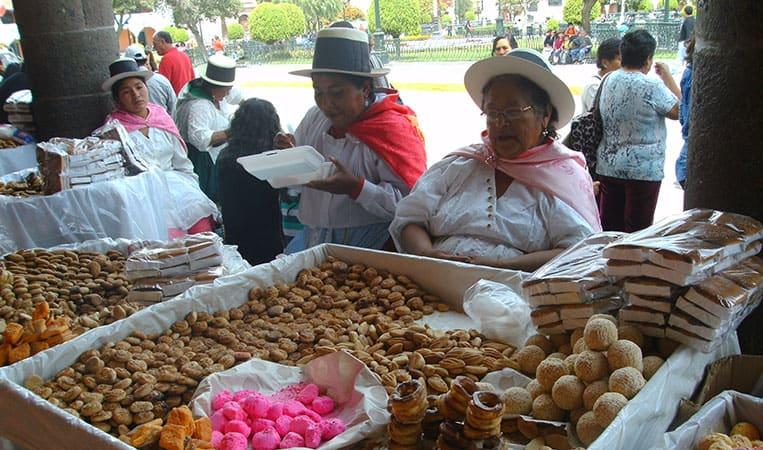 Markt in Ayacucho