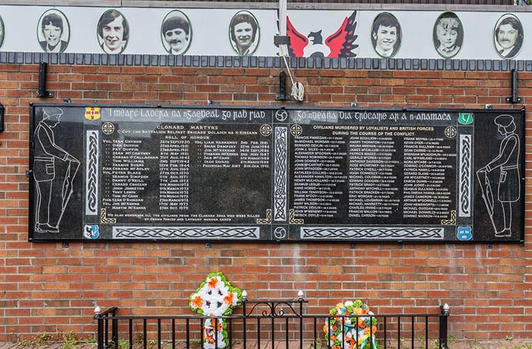 Clonard Martyrs Memorial Garden, Bombay Street, Belfast