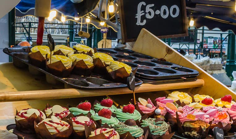 Cupcakes am St. George's Market