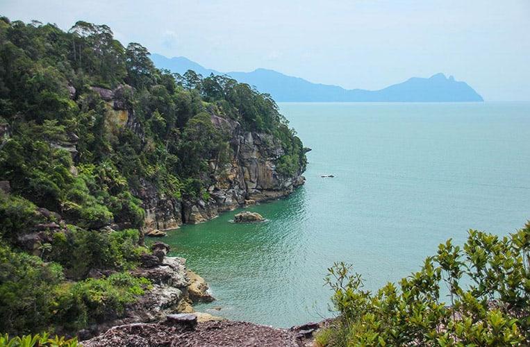 Die Bako Bucht im Bako Nationalpark | Foto: Carina