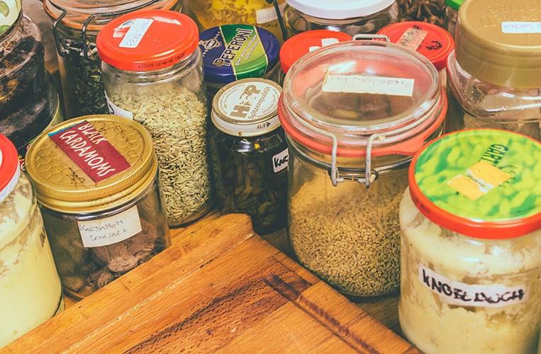 Die typischen Gewürze der Chettinad Küche