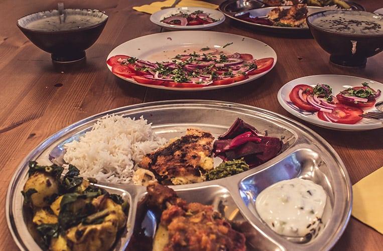 Köstlichkeiten aus dem Chettinad