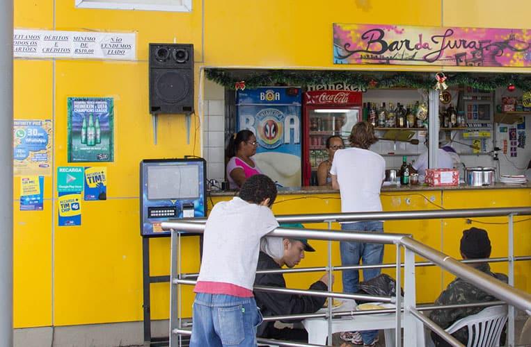 Kiosk in der Favela Morro da Providência