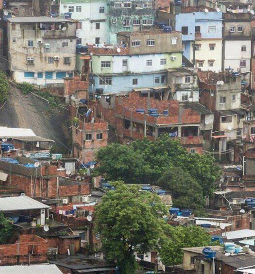 Favela Rocinha, Rio de Janeiro, Brasilien