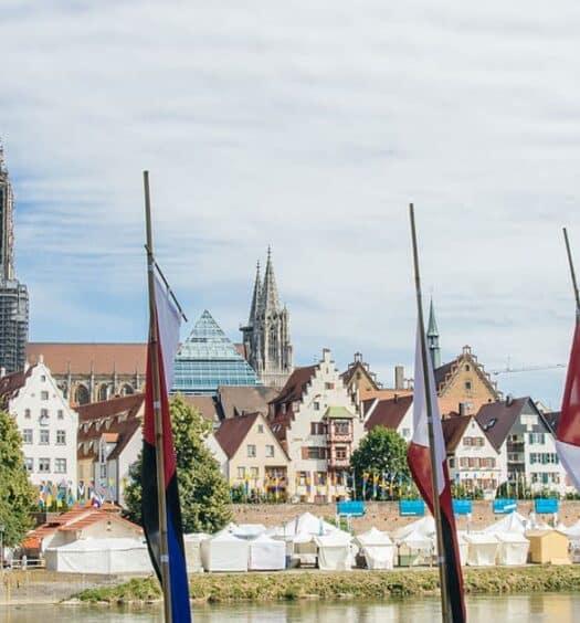 Das internationale Donaufest in Ulm