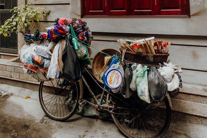 Die Altstadt von Hanoi Vietnam