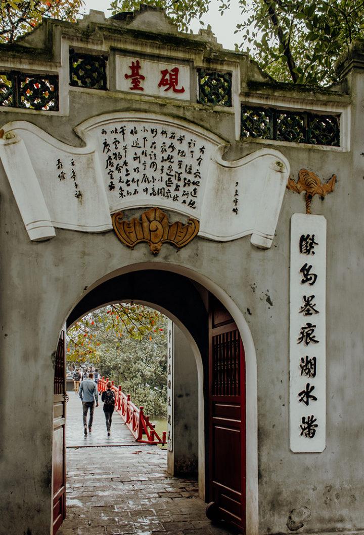 Ngoc Son – Jadeberg-Tempel Hanoi
