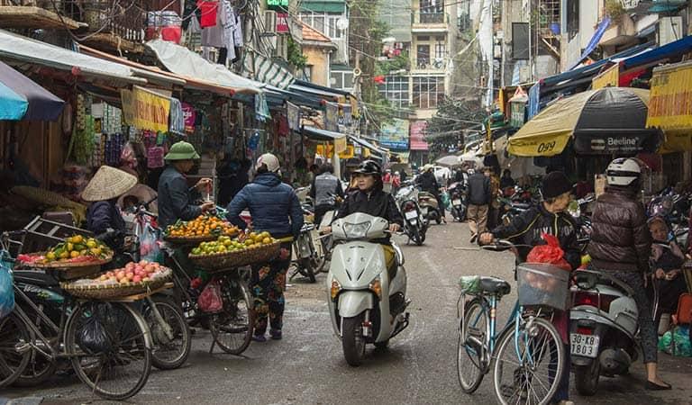 Die Altstadt Hanois