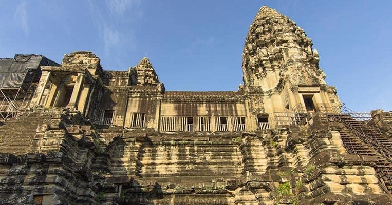 Der zentrale Tempel von Angkor Wat