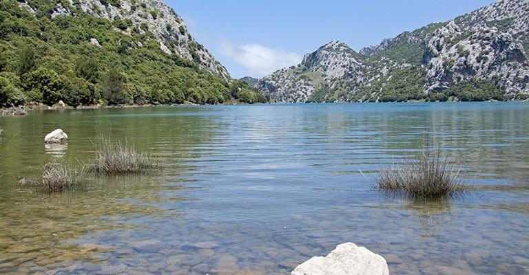 Gorg Blau, ein Stausee auf Mallorca