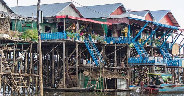 Idylle in Kompong Phluk