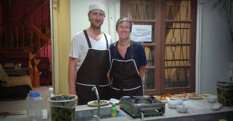 Ein schöner Nachmittag in der Bophut Cookery Class