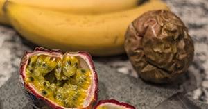 Maracujas und Bananen
