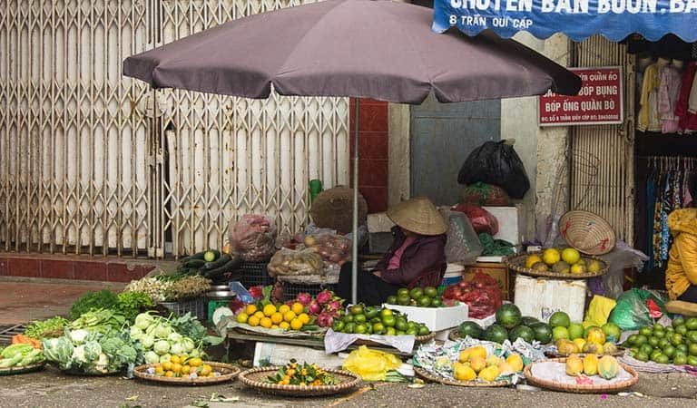 Markt Hanoi