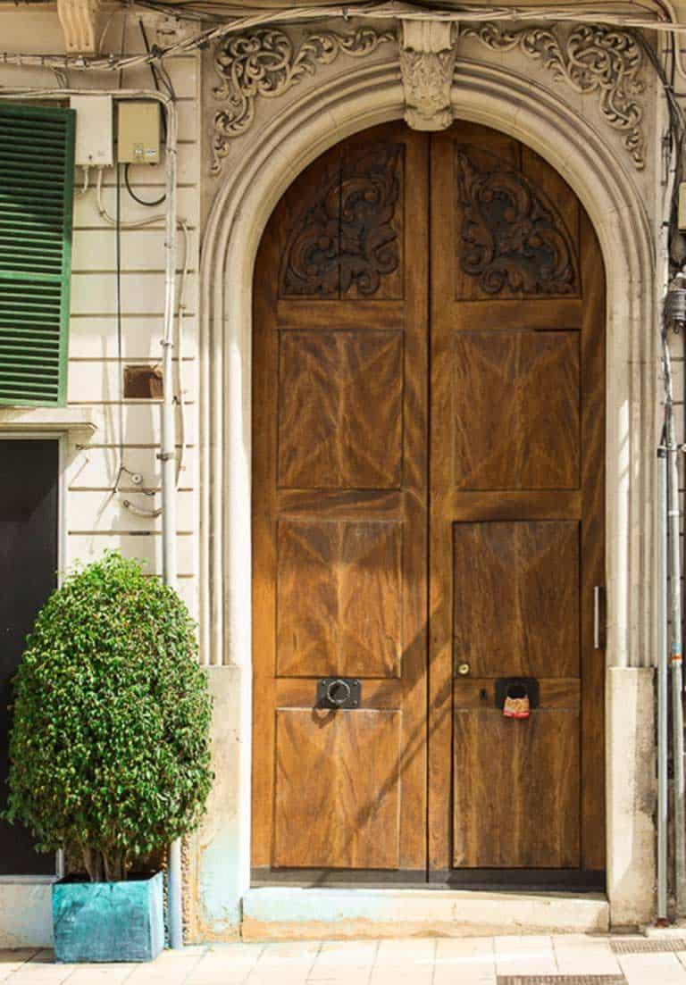 Portal in der Altstadt von Palma