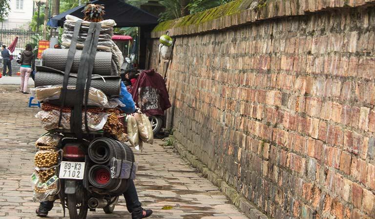 Motorrad in Hanoi
