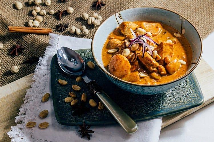 Masaman Curry nach einem Original Rezept aus Thailand