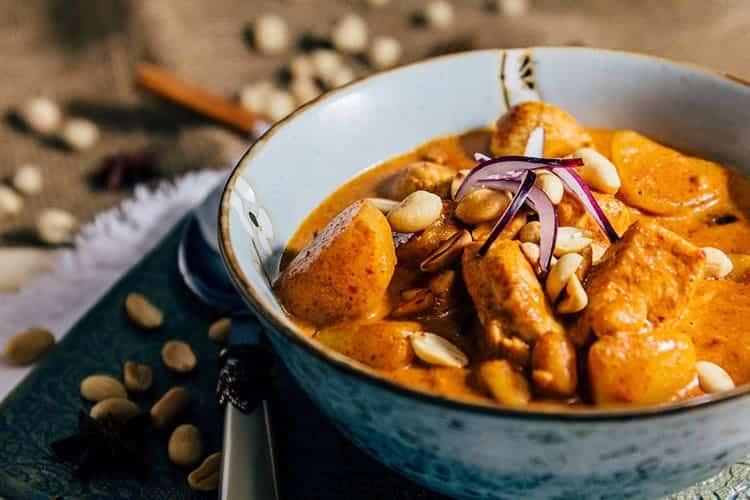 Massaman Curry Rezept aus Thailand