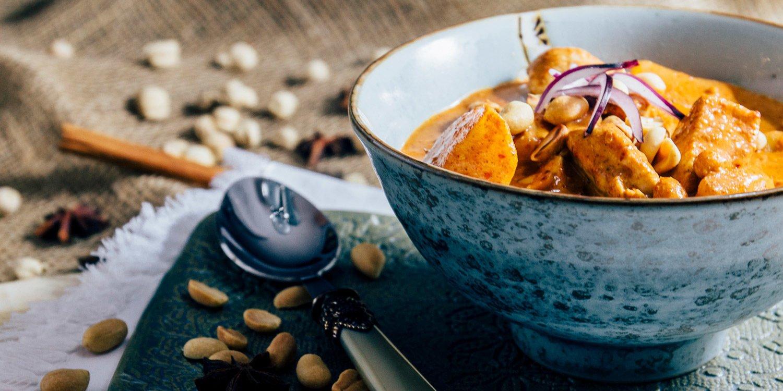 Massaman Curry nach einem Originalrezept aus Thailand