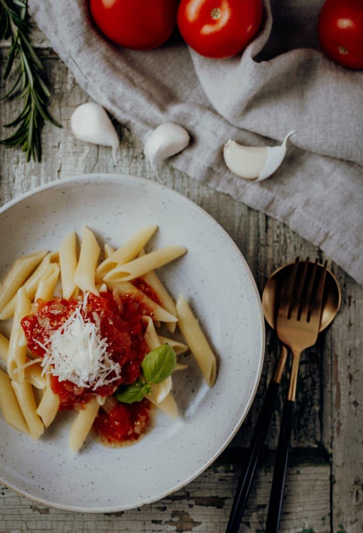 Penne Pomodoro Rezept aus Italien