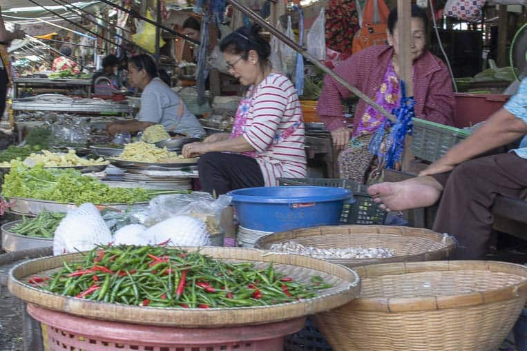 Ein lokaler Markt