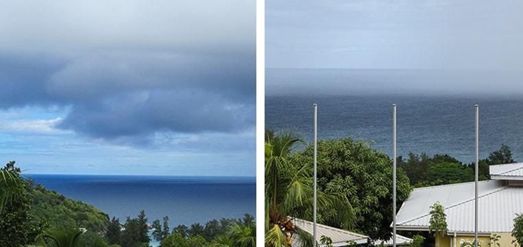 Gewitter auf den Seychellen