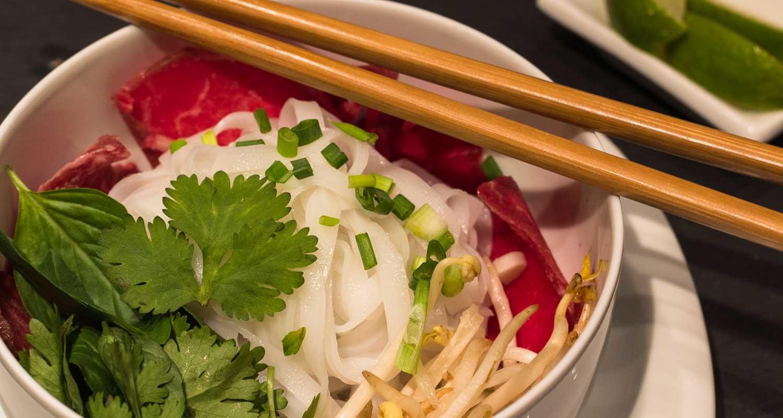 Pho Bo Tai nach einem Rezept aus Vietnam