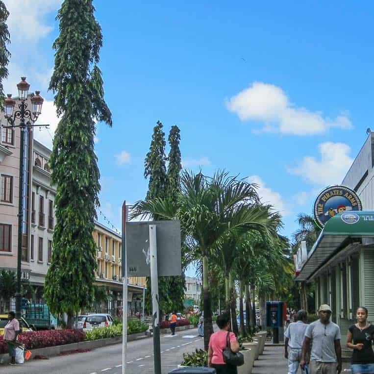 Victoria – die einzige Stadt und Hauptstadt auf Mahé