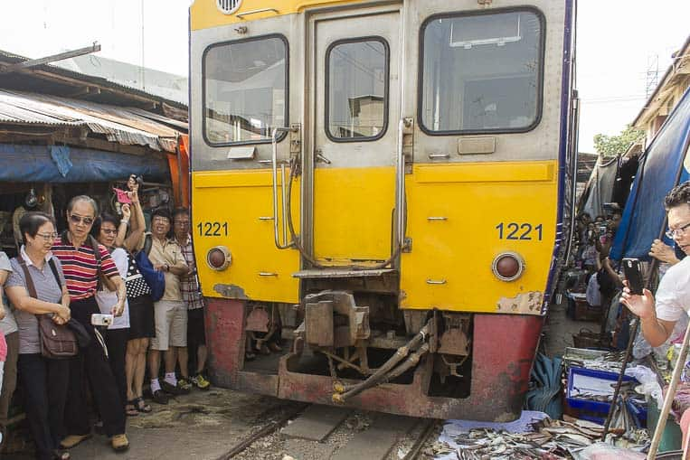 Wenn der Zug kommt... wirds kuschlig!