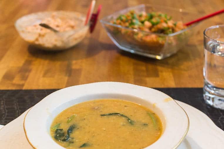 Die Süleymaniye Suppe als Vorspeise