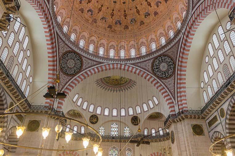 Die Süleymaniye Moschee in Istanbul