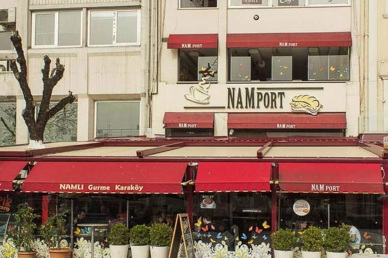 NAM Port, der beste Brunch in Istanbul
