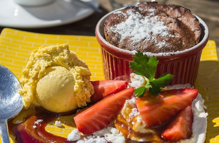 Schokoladensoufflé... zum reinlegen