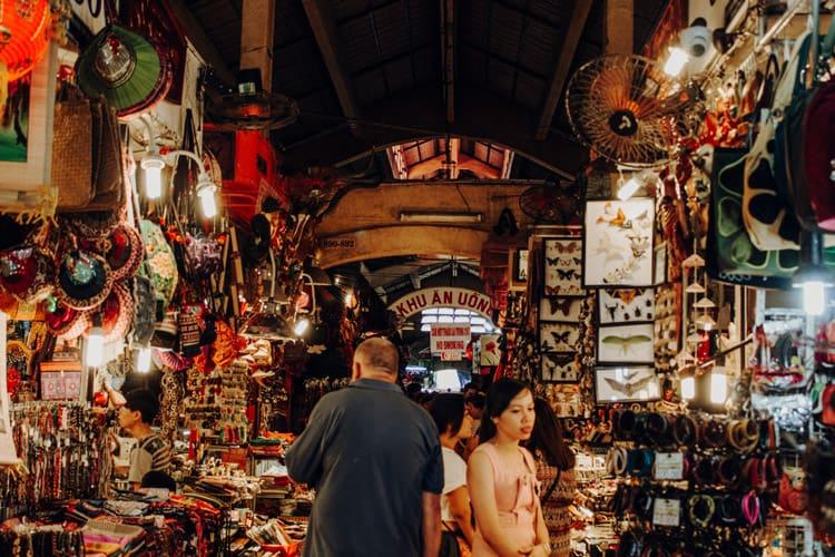 Der Ben-Thanh-Markt – das Wahrzeichen von Ho Chi Minh City