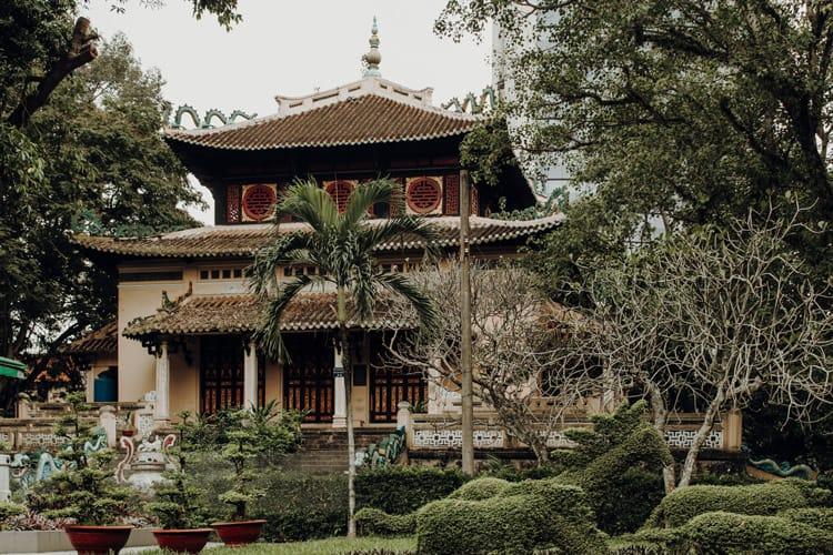 Der botanische Garten von Ho Chi Minh City