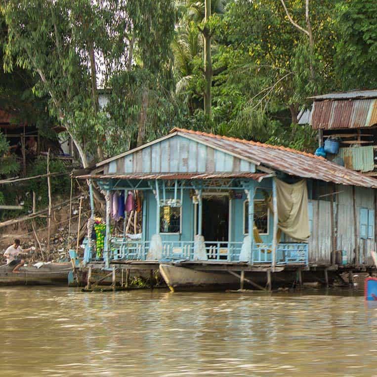 Haus am Mekong