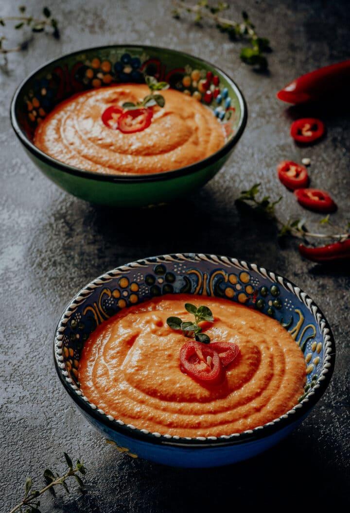 Spanische Romesco Sauce Rezept
