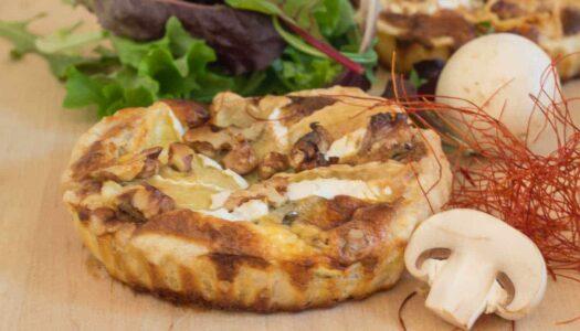 Herzhafte Tartelettes mit Camembert