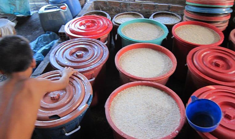 Lao Lao - laotischer Reisschnaps