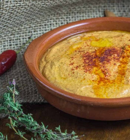 Rezept für Romesco Sauce