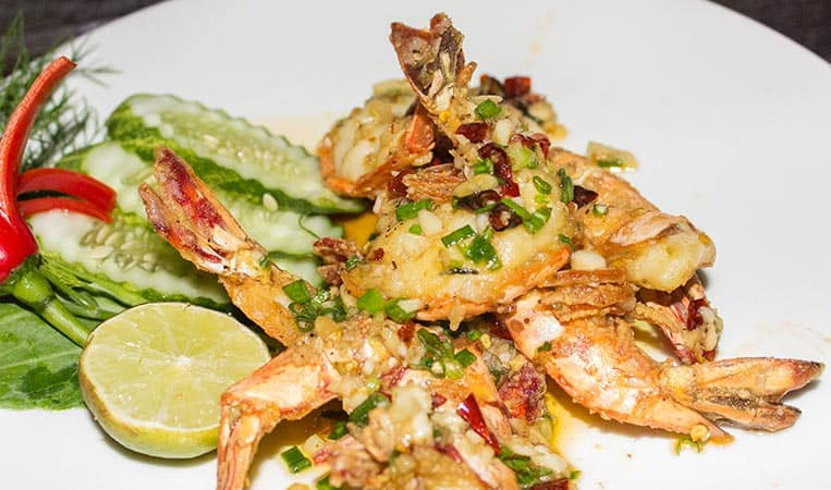 King Prawns mit Chili