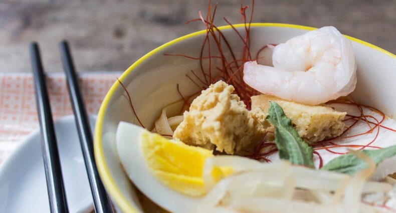 Katong Laksa nach einem Rezept aus Singapur