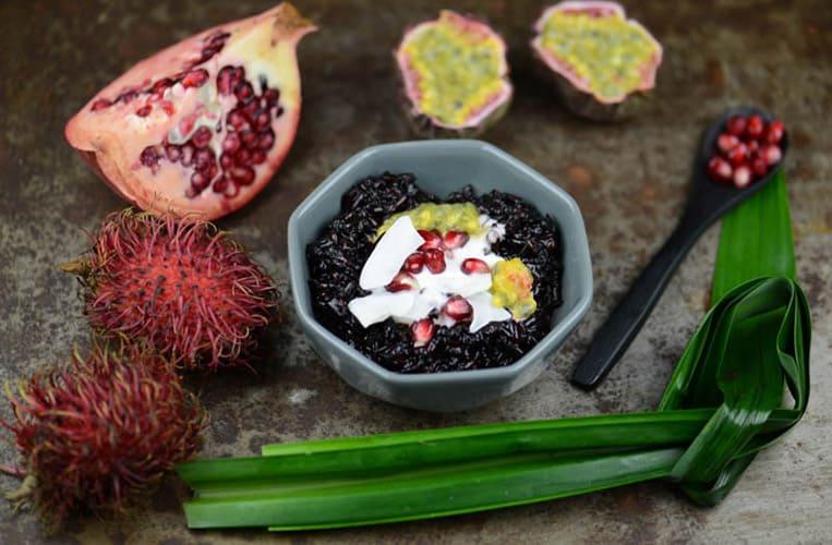 Bubur Ketan Hitam gilt in Indonesien nicht nur als Dessert, sondern auch als Frühstück | Foto: Heiko Meyer/Julia Pilz
