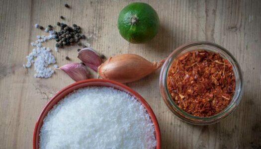 Coconut Sambol aus Sri Lanka